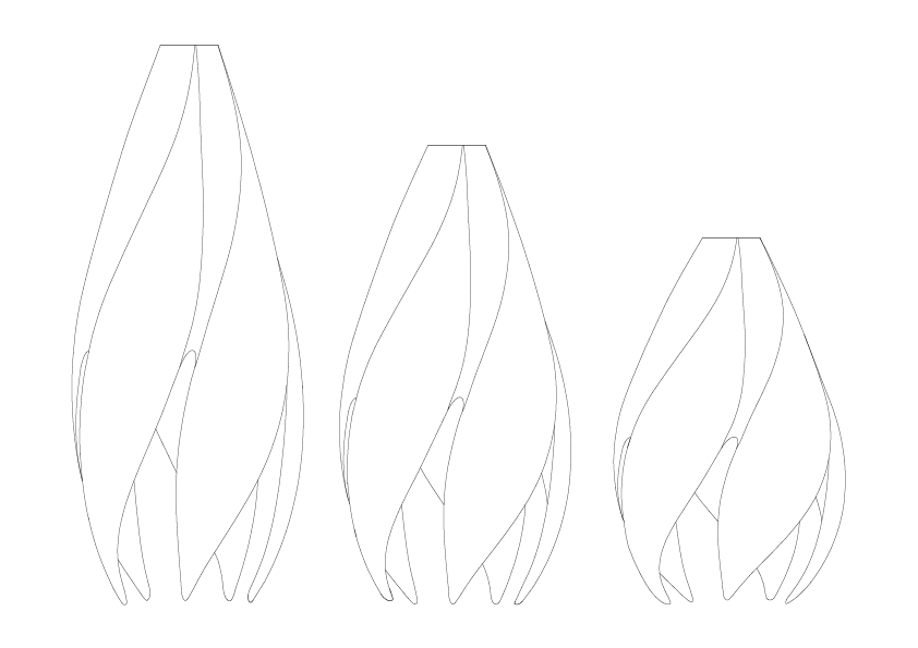 Twist Line drawings PNG
