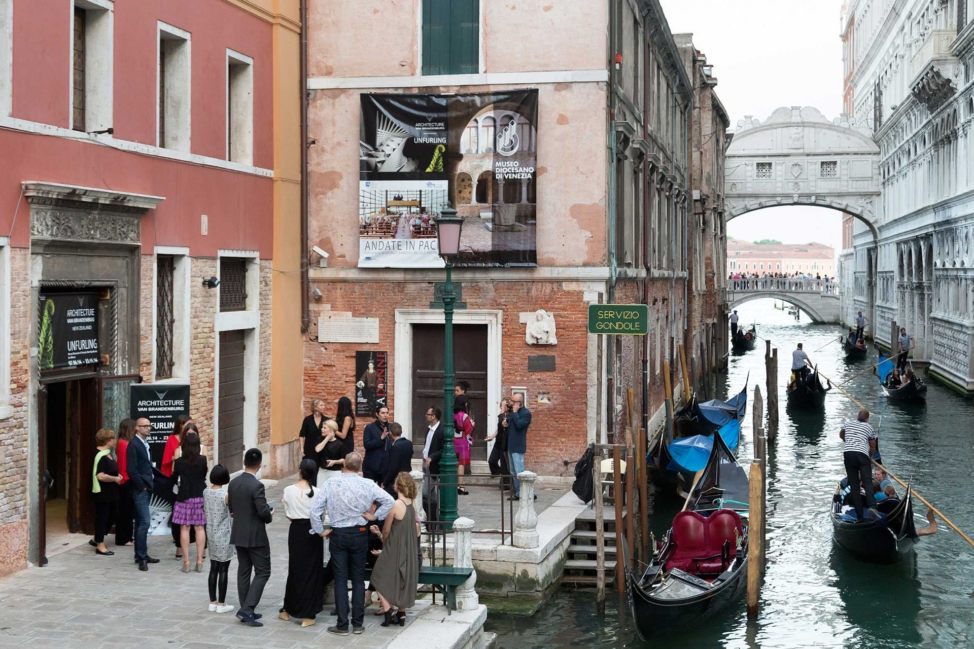 AVB Unfurling Venice - Entry to AVB Exhibition